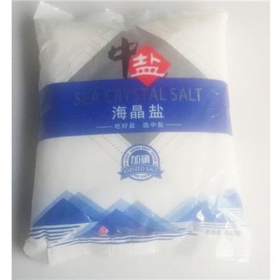 中盐海晶盐(粗盐)500g/袋 - 农夫商城